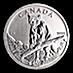 Canadian Wildlife Series 2012 - Cougar - Circulated - 1 oz thumbnail