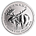 Canadian Wildlife Series 2012 - Moose - 1 oz thumbnail