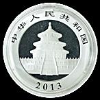 Chinese Silver Panda 2013 - 1 oz thumbnail