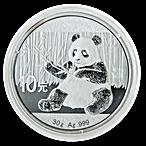 Chinese Silver Panda 2017 - 30 g thumbnail