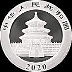 Chinese Silver Panda 2020 - 30 g thumbnail