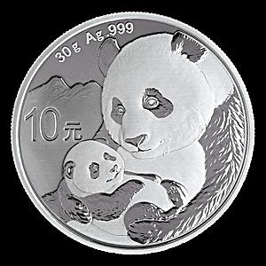 Chinese Silver Panda 2019 - 30 g