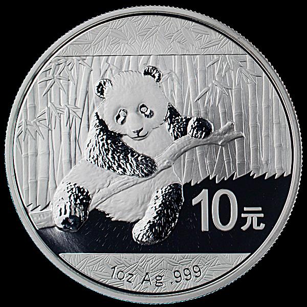 Chinese Silver Panda 2014 - 1 oz