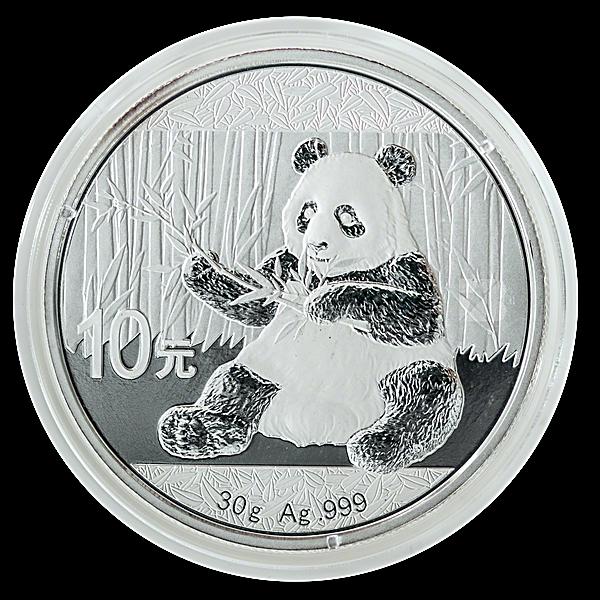 Chinese Silver Panda 2017 - 30 g