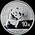 Chinese Silver Panda 2014 - 1 oz thumbnail