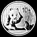Chinese Silver Panda 2015 - 1 oz thumbnail