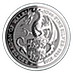 United Kingdom Silver Queen's Beast 2018 - Dragon - 10 oz thumbnail