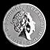 United Kingdom Silver Queen's Beast 2018 - Unicorn - 2 oz thumbnail