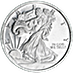 Walking Liberty Silver Round - 1/10 oz thumbnail