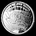 Saint Gaudens Silver Round - 1 oz thumbnail