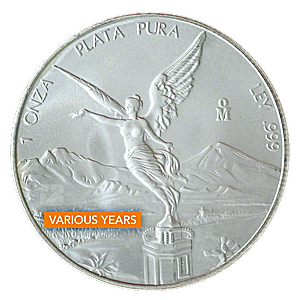 Mexican Silver Libertad - Various years - 1 oz