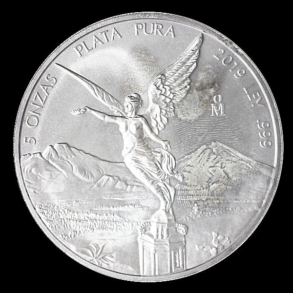 Mexican Silver Libertad 2019 - 5 oz
