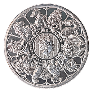 United Kingdom Silver Queen's Beast Completer 2021 - 2 oz