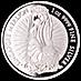 Singapore Silver Merlion Round thumbnail