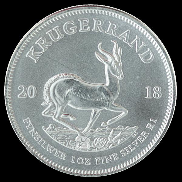 South African Silver Krugerrand 2018 - 1 oz