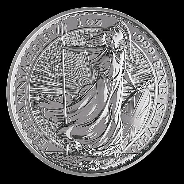 United Kingdom Silver Britannia 2019 - 1 oz
