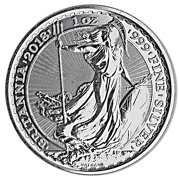 United Kingdom Silver Britannia 2018 - 1 oz