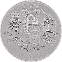 United Kingdom Silver Royal Arms 2019 - 1 oz