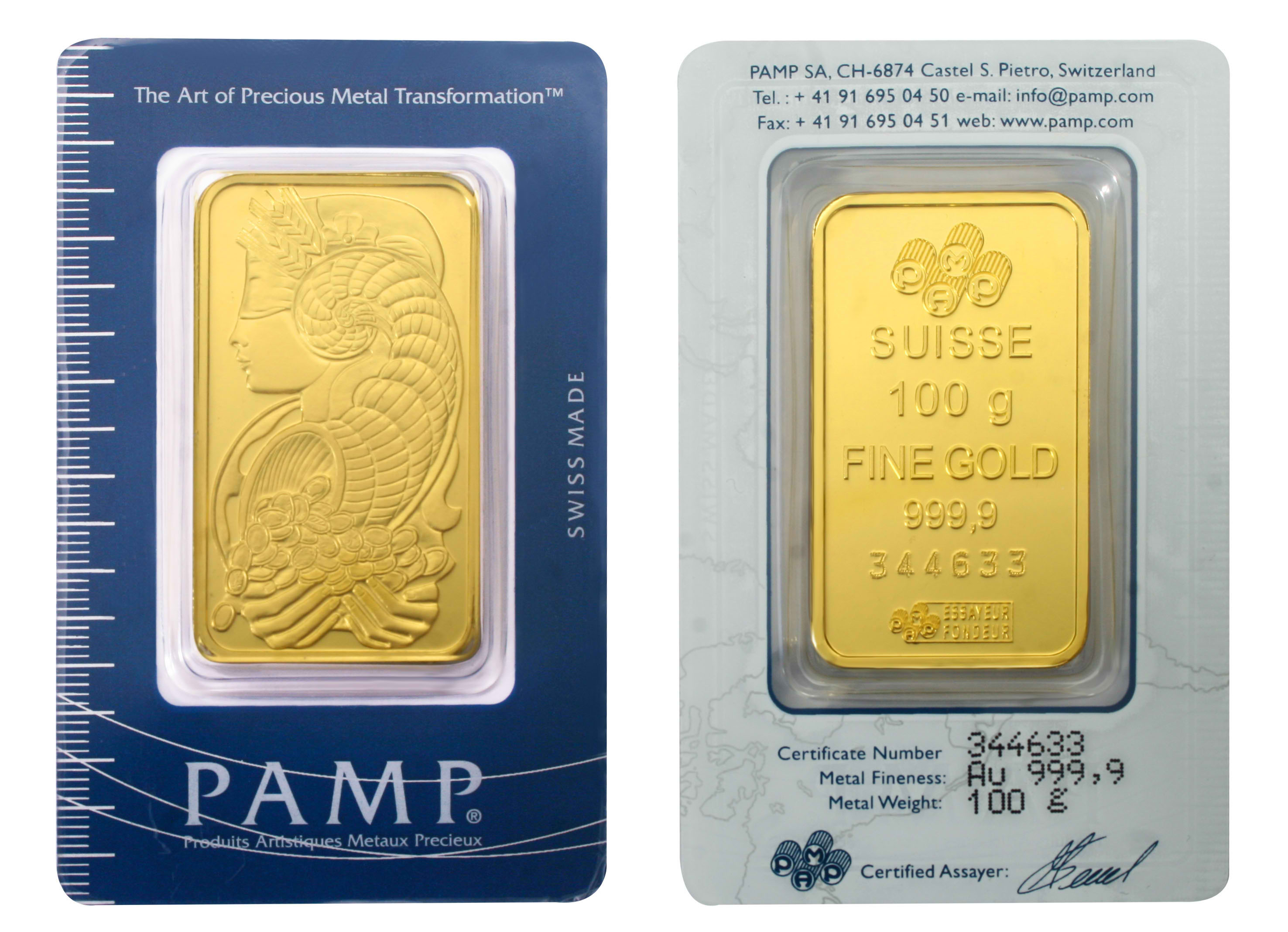 Pamp Refinery Gold University Bullionstar